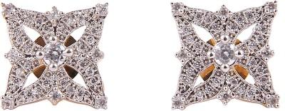 Senoritafashion Trendy Swarovski Crystal Sterling Silver Stud Earring