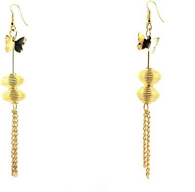 Zidox Golden spree Metal Dangle Earring