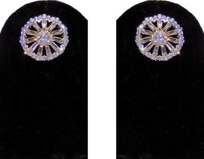 Jewels Kafe American Diamond Alloy Stud Earring