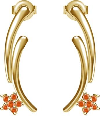 Kirati Flower Design Sterling Silver Stud Earring