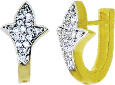 Aura Collection AD Stylish Alloy Huggie Earring
