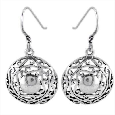 925 Silver Dangling Silver Dangle Earring