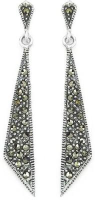 Johareez Beautiful Sterling Silver Drop Earring