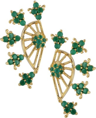 Archi Collection Style Diva Cubic Zirconia Alloy Cuff Earring
