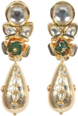 Envy Flower Glass Drop Earring