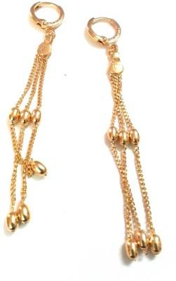 6LOTUS SPARKLE Brass Drop Earring