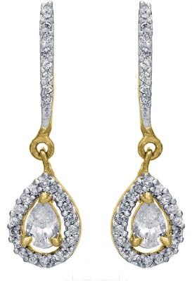 Shanti Jewellery Classic AD Earrings Brass Drop Earring