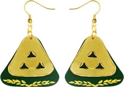 Kenway Retail Spring Euphoria Brass Dangle Earring