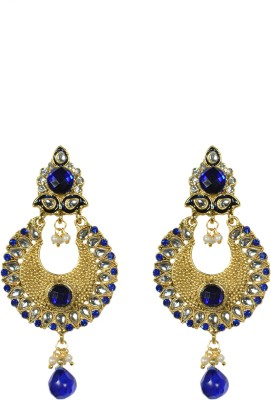 Indowave Antique classic green Alloy Drop Earring