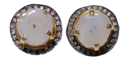 Gharaz Solar studs Brass Stud Earring