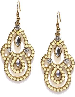 Dressberry Premium Crystal Metal Dangle Earring
