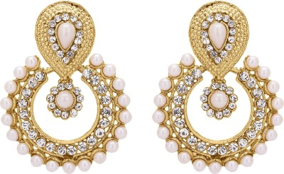 Shanti Jewellery Imported Earrings Brass Chandbali Earring at flipkart
