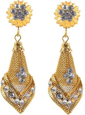 Harini Designer Cone Shape Alloy Drop Earring