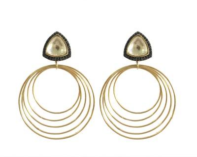 Adrisya Adrisya Wire Dangles Alloy Drop Earring