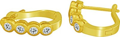 The Fine World Styled In Classic Combination Zircon Metal Clip-on Earring