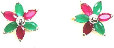 Jiya Fashion Pretties Floral Fusion Metal Stud Earring