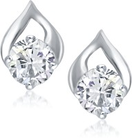 VK Jewels Delicate Drop Cubic Zirconia Alloy Stud Earring
