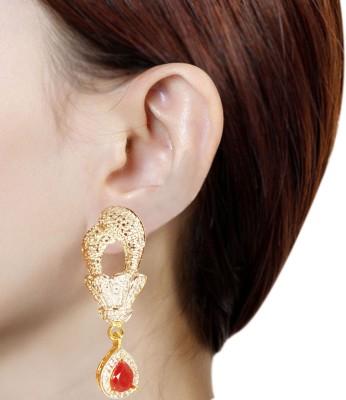 Prisha PPIPLCZER38 Copper Drop Earring