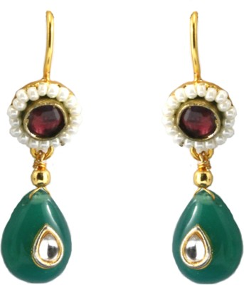 Aara Arts Enamel Drop Earring