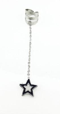 Gurjari STAR Metal Cuff Earring