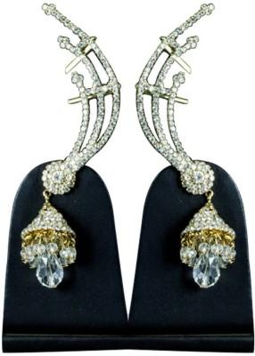 Paradise Delight Jhumkie Brass, Copper Jhumki Earring