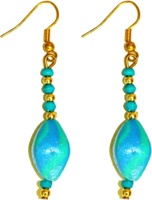 Deal And Gift Small Bead Resin Drop Earring