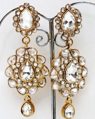 yash creations RAR05 Brass Earring Set