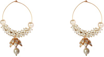 Rever Design Studio Spring Summer Alloy Hoop Earring
