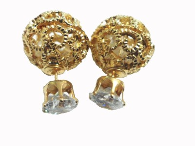 Brandmeup Hollow Out Classy Gold Alloy Stud Earring