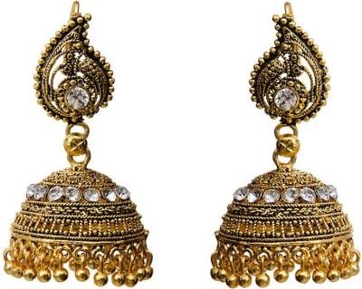 Grand Jewels Antique 2 Alloy Jhumki Earring