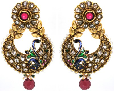 Prisha Beautiful Cz Stones Fashion Earrings Zircon Copper Drop Earring