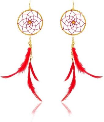 Rooh Jewellery Funky Western Brass Dangle Earring