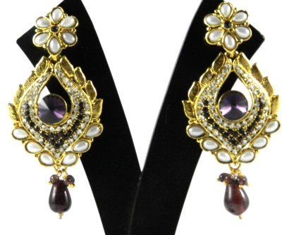Tradeyard Impex Tribal Cubic Zirconia Alloy Drop Earring