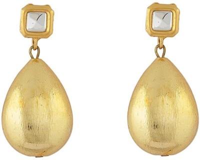Monisha Daga Golden Glam Drops Alloy Drop Earring