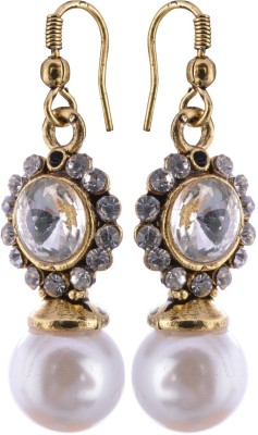 Zakina ER032 Crystal Metal Dangle Earring
