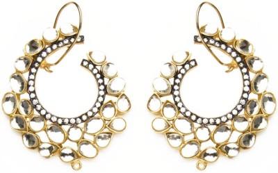 Joyas Designer Brass Hoop Earring