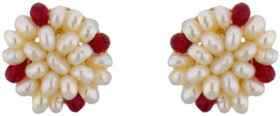 JPearls Passion Pearl Alloy Stud Earring