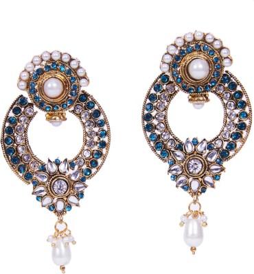Traditsiya Designer Elegant Alloy Chandelier Earring