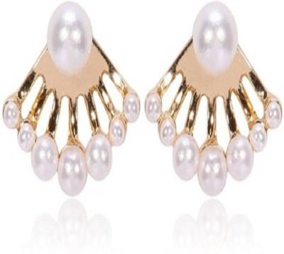 Stile Rainbow Pearl Alloy Stud Earring