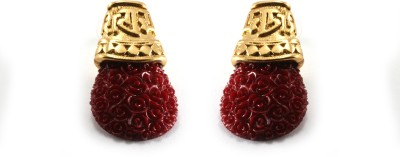Aara Arts Temple Style Alloy Drop Earring