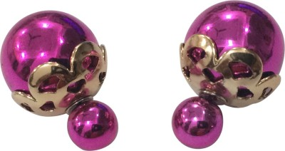Gliteri Double Trouble Crown Head Alloy Plug Earring