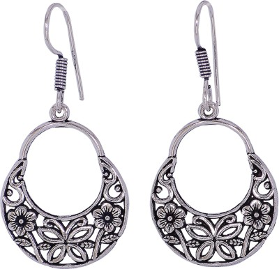 Silvery ME-12-MN Metal Dangle Earring