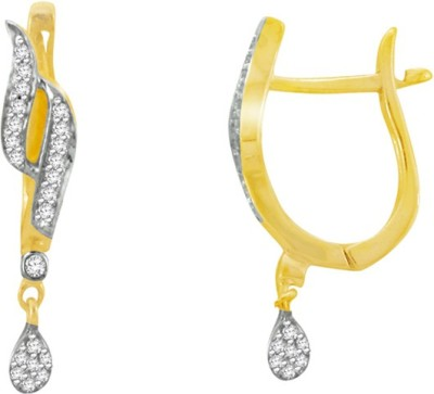 Sparkles T8088D Yellow Gold 18kt Diamond Clip-on Earring