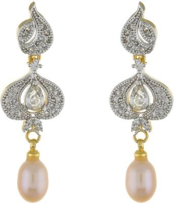 Classique DesignerJewellery Stone Earrings Pearl Alloy Dangle Earring