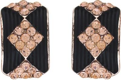 Numaish Lovable Crystal Alloy Stud Earring