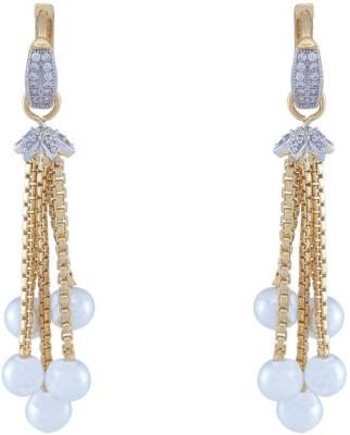 Jewlot Pretty AD 2009 Brass Drop Earring