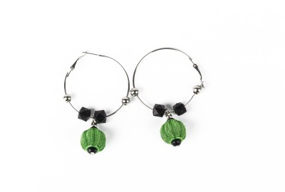 Aatmika College Girl Metal Hoop Earring