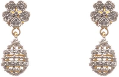 lahari enterprises Bali Diamond Brass Drop Earring