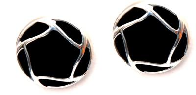 FASHION ERA Blacky spacky Metal Stud Earring