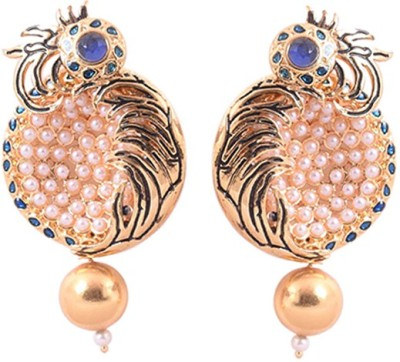 Dulhan 10 Zircon Alloy Drop Earring
